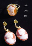 cameo & coral jewelry